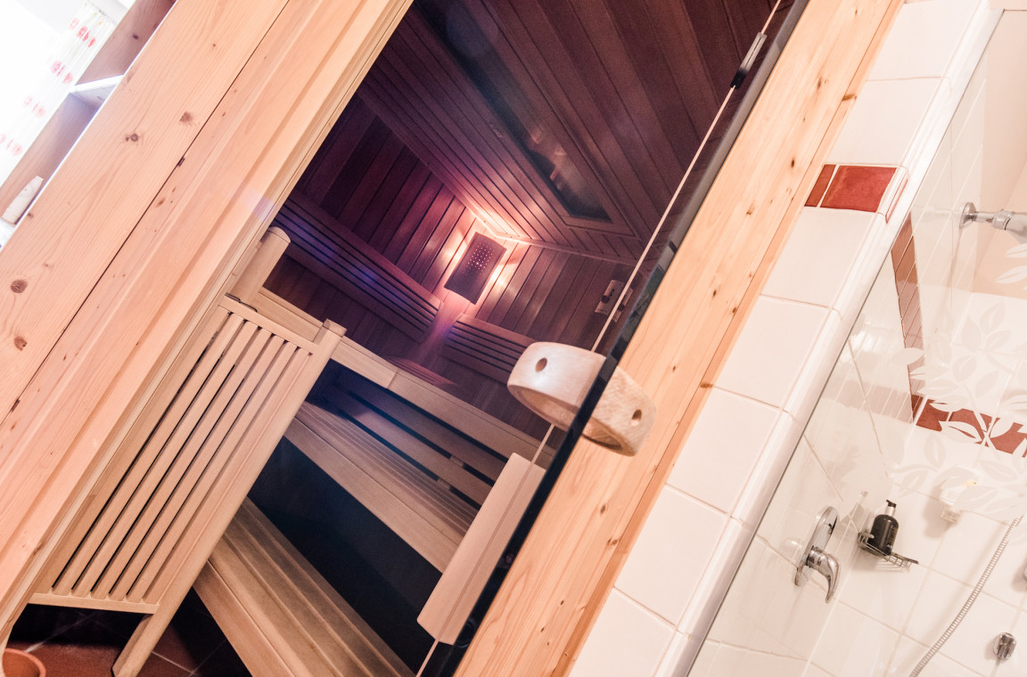 In der Sauna entspannen - im Hubertushof
