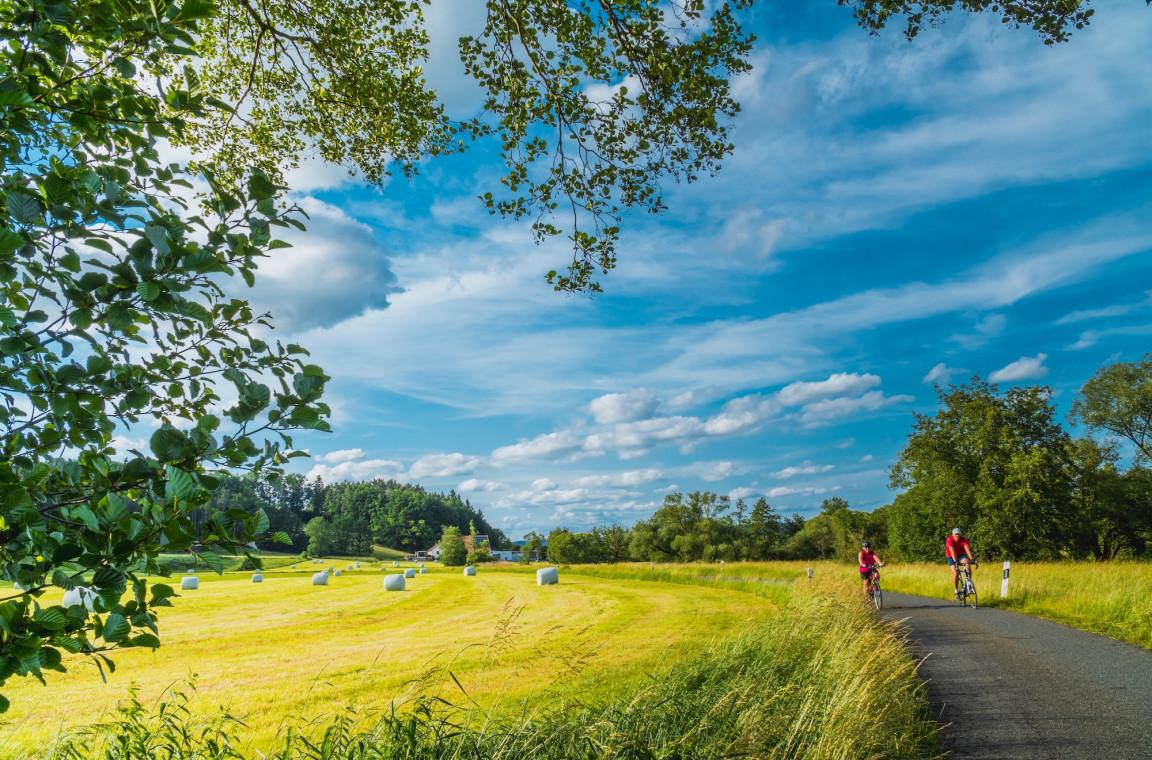 Radfahren rund um den Hubertushof